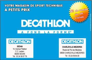 Carte Décathlon