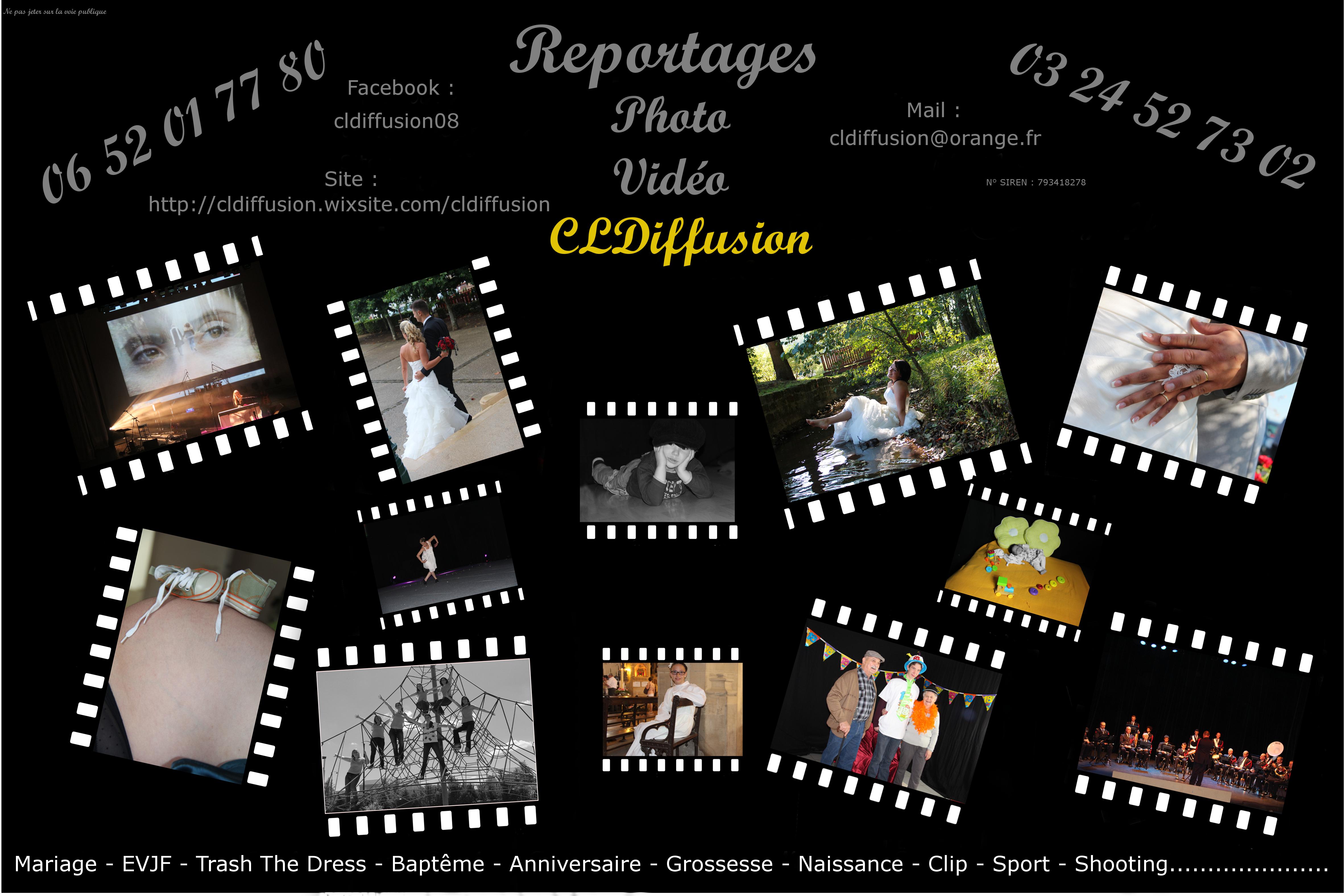Pour vos reportage/photo/vidéo