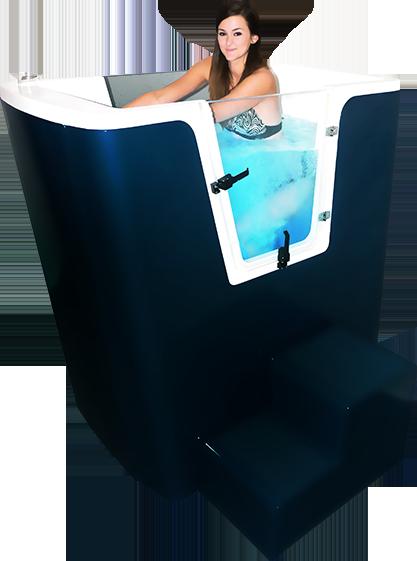 Aquabike en cabine