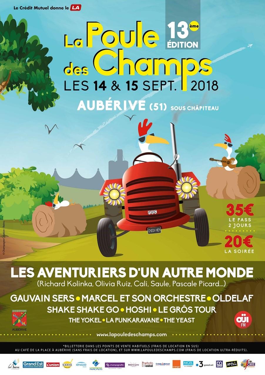 La poule des champs les 14 et 15 sept (festival)