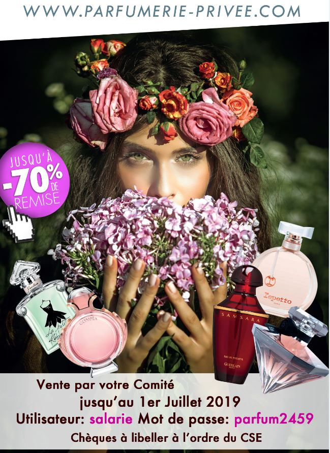 Commande de parfums en ligne