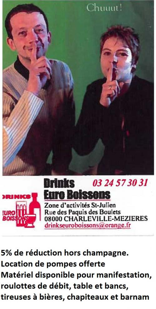 Drinks Euro Boisson